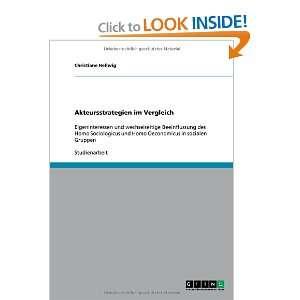 Vergleich (German Edition) (9783640579136): Christiane Hellwig: Books