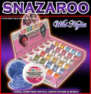 SNAZAROO FACE PAINT IRIDESCENT POWDER 12ML TUB