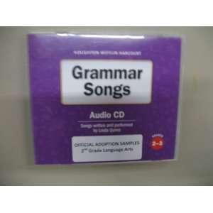 Houghton Mifflin Harcourt Texas Journeys Grammar Songs CD