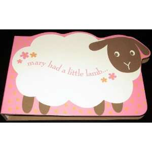 Mary Had a Little Lamb   Die Cut 32 Photo/Brag Book: Baby