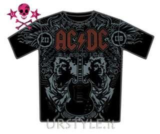 MAGLIETTA AC/DC HELLS BELLS HARD ROCK ACDC T SHIRT L
