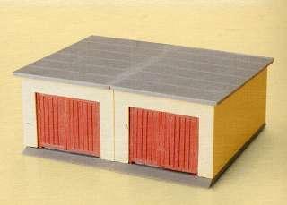 AUHAGEN 12341 coppia di GARAGE box AUTO per Plastico Ferroviario