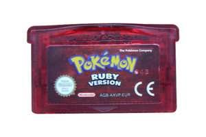 Pokemon Ruby for Nintendo Game Boy Advance 045496732530