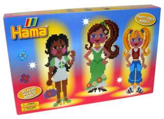 Hama Party Girls 4000 Bead Set