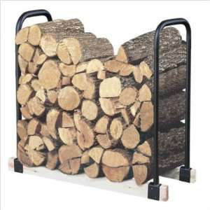 Landmann 2 Foot to 16 Foot Adjustable Log Rack: Patio