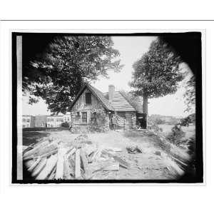 Historic Print (M) Poet Miller cabin, Rock Creek Park