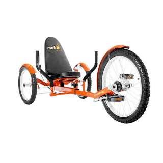 Mobo Triton Pro The Ultimate Three Wheeled Cruiser   Orange   ASA