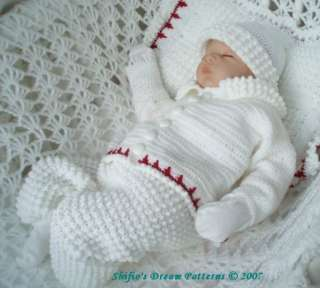 Knitting Pattern Baby Boy Christening : PATTERN FOR BABY BOY BLESSING OUTFIT Sewing Patterns for ...