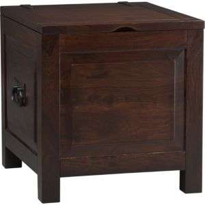 Storage Ottomans: Coffee Table  Crate and Barrel