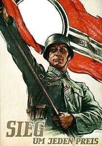 German WWII Poster Print