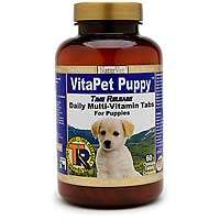 NaturVet VitaPet Puppy Time Release Chewable Multi Vitamin Tablets for