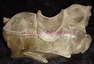 Authentic Chinese Tang Bronze Horse Statue