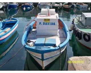 Barca in legno con motore a Siracusa    Annunci