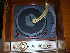 RARE50S STEREOGRAM STROMBERG CARLSON TV TURNTABLE RADIO