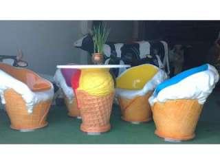 Figuras para hostelería de helados y moviliario. (11980852)