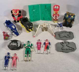 BANDAI Mighty Morphin POWER RANGERS zords action figures toys C