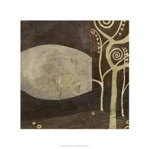 Sylvan Spirals IV by June Erica Vess 22.00X22.00. Art