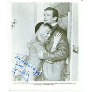James Johnson Autographed Photo   Lynn Holly Bond Girl For