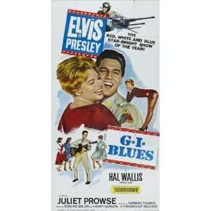 27x40 Elvis Presley Juliet Prowse Robert Ivers: Home & Kitchen