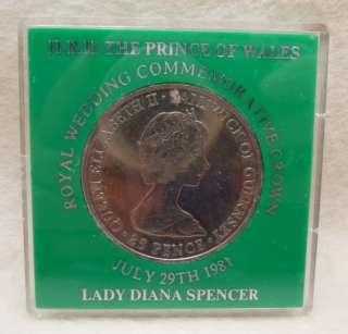 Wedding Cupronickel Coin Crown Princess Diana Lloyds Bank