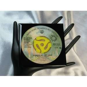 Manfred Manns Earth Band 45 rpm Record Drink Coaster