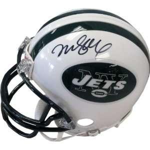 Mark Sanchez Autographed New York Jets Mini Helmet Sports
