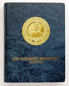 USS THEODORE ROOSEVELT CVN 71 CRUISE BOOK 1988 1989