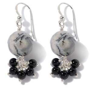 Jewelry Mine Finds by Jay King Earrings Drop Earrings