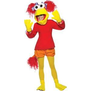 Fraggle Rock Red Adult Costume, 68736