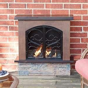 Aspen Portable Indoor / Outdoor Gel Fuel Fireplace