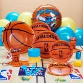 New Orleans Hornets NBA Basketball Deluxe Party Kit