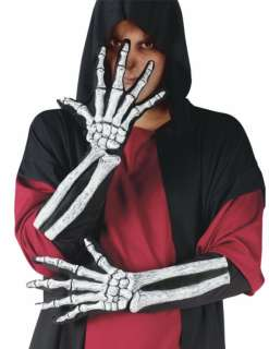 Skeleton Glove and Wrist Bone   Accessories & Makeup