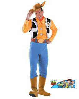 Mens Toy Story Deluxe Woody Costume  Wholesale Disney Halloween