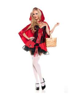 Womens Sexy Red Riding Hood Costume Sexy Fairytale Costumes at