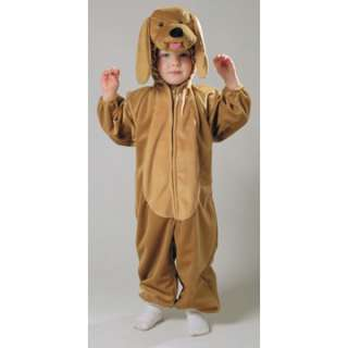 Plush Puppy with Floppy Ears Costume   Kids Animal Costumes   15AF013