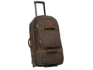 Ogio Terminal Rolling Travel Bag (Brown Plaid)