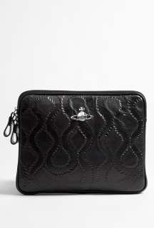 Vivienne Westwood Accessories  Squiggle Embossed Leather iPad Cover