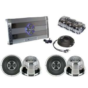 Watts Amplifier & Dual 12 Subwoofer Audio Package