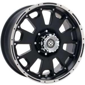 American Racing ATX Vice AX1076 Matte Black Wheel with Machined Face