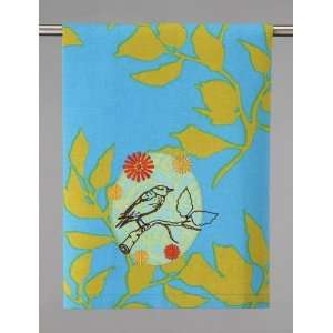 Anna Maria Horner Handicraft Sparrow Tea Towel Kitchen