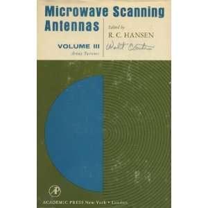 Microwave Scanning Antennas 3 Volumes: R C Hansen: Books