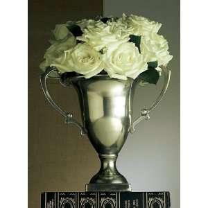 Dessau Antique Silver Trophy Vase Patio, Lawn & Garden