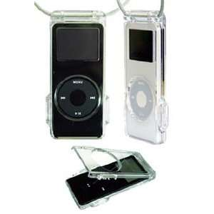 Summit Apple iPod Nano Crystal Clear Case with Belt Clip