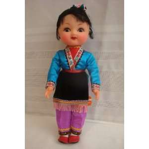 Chinese Fashion Doll with Adjustable Arms and Legs