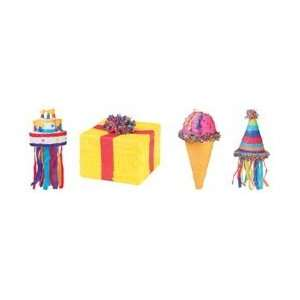 Ya Otta Pinata Assortment 4 Pieces Birthday P20032; 4
