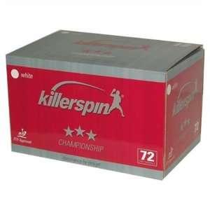 Killerspin Champion 72 Ct. Table Tennis Ball Box  Sports
