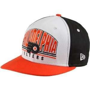 New Era Philadelphia Flyers Black White Orange Monolith