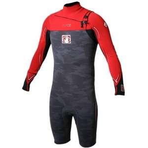 Body Glove Mens 2 mm Vapor Long Arm Spring Wetsuit (Black