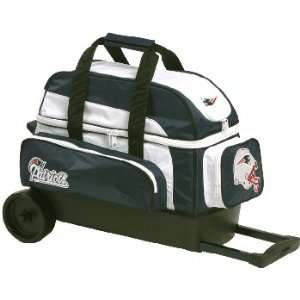 Kr NFL Double Roller Bowling Bag Newengland Pats Sports