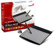 Genius G Pen F610 Ultra Slim Tablet: Electronics
